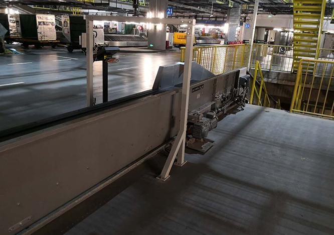 德泰克×某知名航空公司RFID行李到港自动确认系统